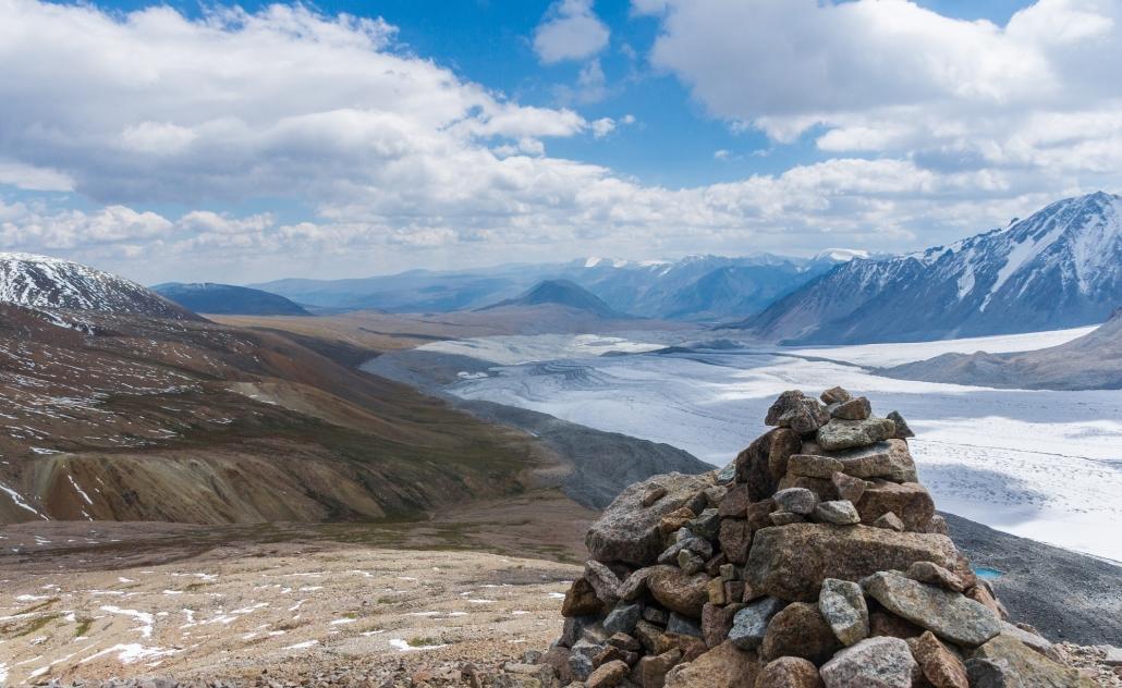 Das Altai-Gebirge in der westlichen Mongolei